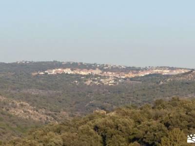 Cañadas, molinos del Río Perales; senderismo comunidad madrid señalizacion senderos excursiones d